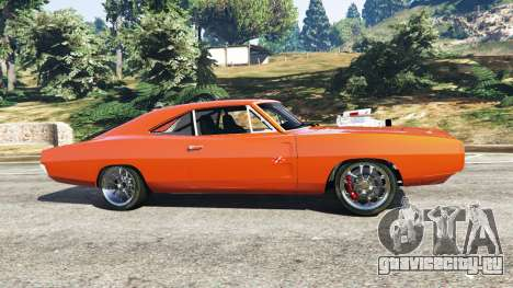 Dodge Charger 1970 Fast & Furious 7 для GTA 5 вид слева
