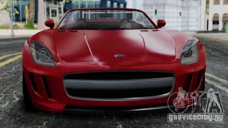 GTA 5 Benefactor Surano v2 IVF для GTA San Andreas вид сзади