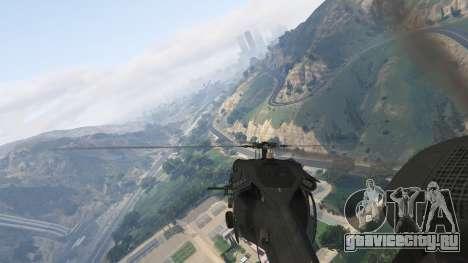 MH-60L Black Hawk для GTA 5 девятый скриншот