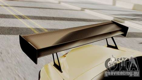 Honda S2000 GT1 для GTA San Andreas вид сзади