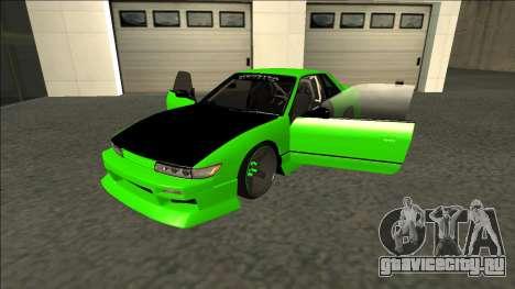 Nissan Silvia S13 Drift Monster Energy для GTA San Andreas вид сзади