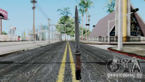 KAR 98 Bayonet from Battlefield 1942 для GTA San Andreas второй скриншот