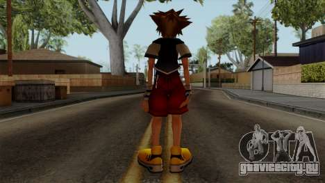 Kingdom Hearts 2 - Sora KH1 Costume для GTA San Andreas третий скриншот