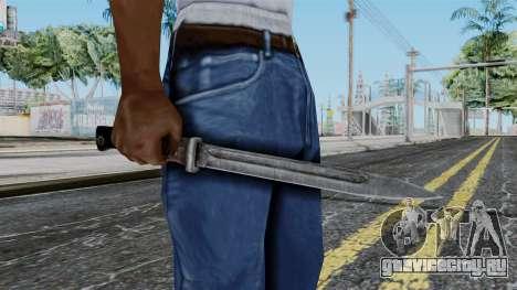 KAR 98 Bayonet from Battlefield 1942 для GTA San Andreas третий скриншот