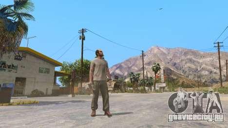 Нож Кукри для GTA 5 второй скриншот