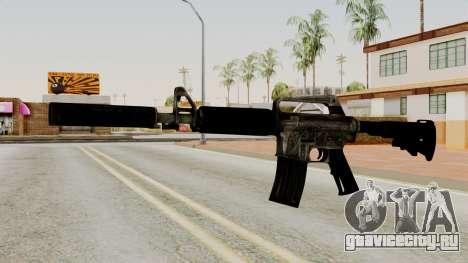 M4A1-S Basilisk для GTA San Andreas