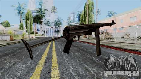 MP40 from Battlefield 1942 для GTA San Andreas второй скриншот