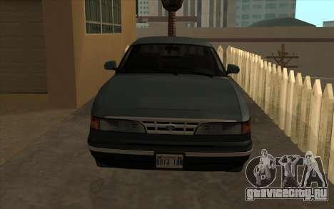 Форд Краун Виктория 1995 Стиль SA для GTA San Andreas вид слева