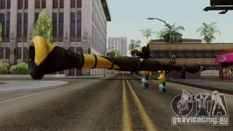 Brasileiro Rocket Launcher v2 для GTA San Andreas третий скриншот