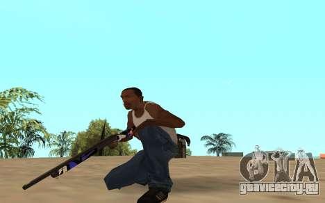 Shotgun с тигрёнком для GTA San Andreas третий скриншот