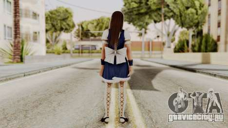 DOA 5 Leifang Maid для GTA San Andreas третий скриншот