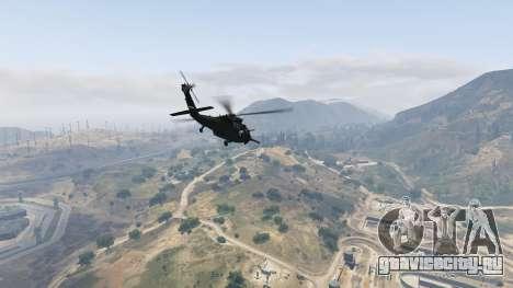 MH-60L Black Hawk для GTA 5 шестой скриншот