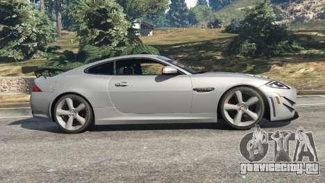 Jaguar XKR-S GT 2013 для GTA 5