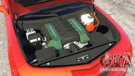 Chevrolet Camaro SS 2010 [Beta] для GTA 5 вид спереди справа