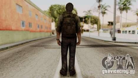 Joel - The Last Of Us для GTA San Andreas третий скриншот