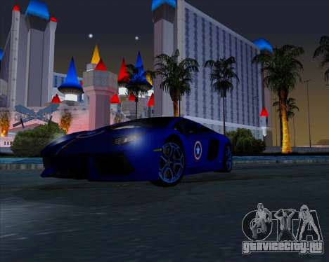 Vitesse ENB V1.1 Low PC для GTA San Andreas пятый скриншот
