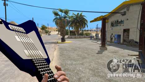Gibson Flying V для GTA 5 второй скриншот