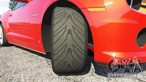 Chevrolet Camaro SS 2010 [Beta] для GTA 5 вид справа