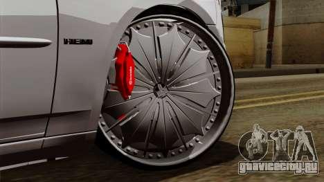 Dodge Charger 2006 DUB для GTA San Andreas вид сзади слева