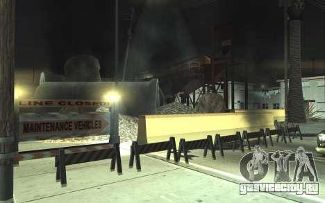 Ремонт дороги v2.0 для GTA San Andreas второй скриншот