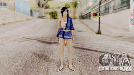 DOA 5 Kokoro DLC для GTA San Andreas второй скриншот
