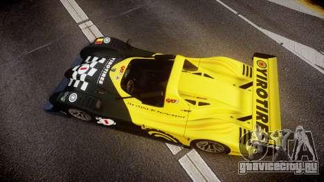 Radical SR8 RX 2011 [1] для GTA 4 вид справа