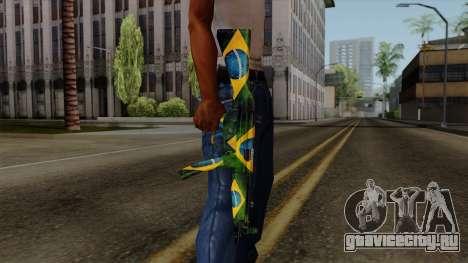 Brasileiro MP5 v2 для GTA San Andreas третий скриншот