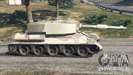 Т-34 custom для GTA 5 вид слева