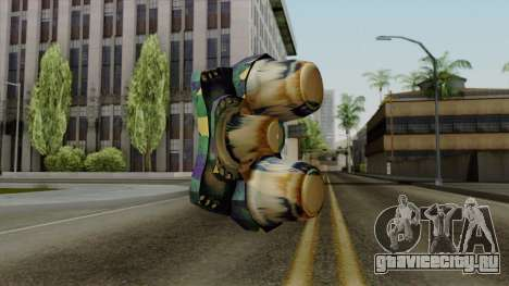 Brasileiro NV Goggles v2 для GTA San Andreas