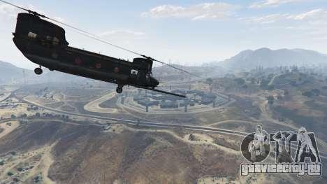 MH-47G Chinook для GTA 5 шестой скриншот