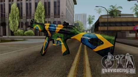Brasileiro MP5 v2 для GTA San Andreas второй скриншот