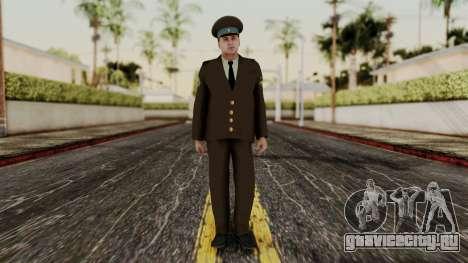 Старший прапорщик ВВС для GTA San Andreas второй скриншот