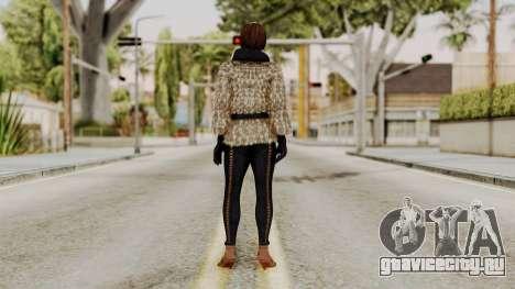 DOA 5 Lisa Hamilton Fashion для GTA San Andreas третий скриншот