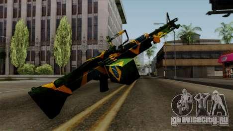 Brasileiro Minigun v2 для GTA San Andreas третий скриншот