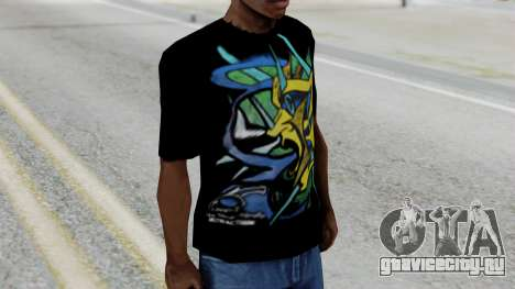 T-shirt from Jeff Hardy v1 для GTA San Andreas второй скриншот