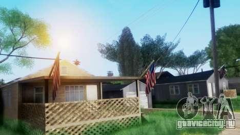 Project Reborn ENB Series для GTA San Andreas четвёртый скриншот