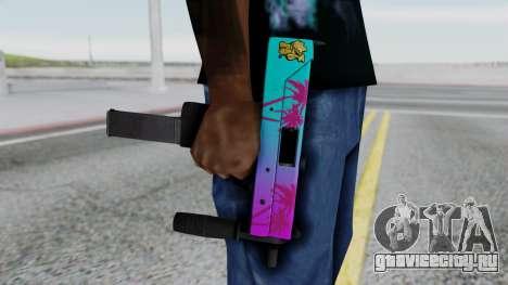 MAC-10 Hotline Miami для GTA San Andreas третий скриншот