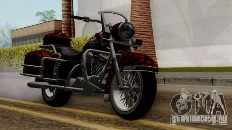 Classic Batik Motorcycle для GTA San Andreas
