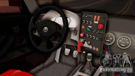 Honda S2000 GT1 для GTA San Andreas вид справа