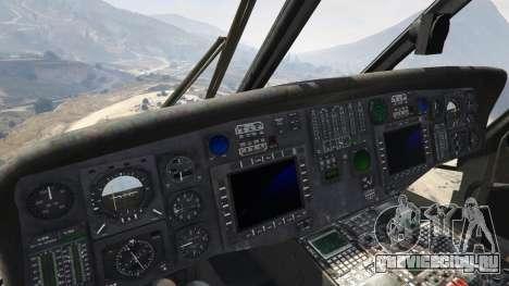 MH-60L Black Hawk для GTA 5 пятый скриншот
