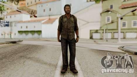 Joel - The Last Of Us для GTA San Andreas второй скриншот
