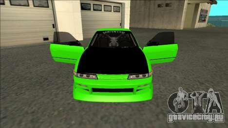 Nissan Silvia S13 Drift Monster Energy для GTA San Andreas вид изнутри