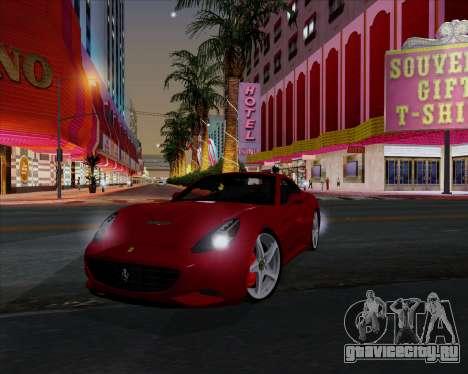 Vitesse ENB V1.1 Low PC для GTA San Andreas седьмой скриншот