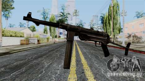 MP40 from Battlefield 1942 для GTA San Andreas