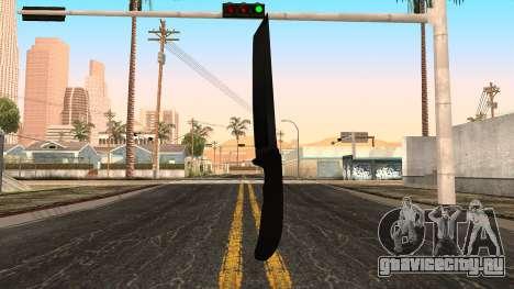 Новый ножик для GTA San Andreas третий скриншот