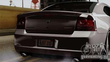 Dodge Charger 2006 DUB для GTA San Andreas вид сбоку