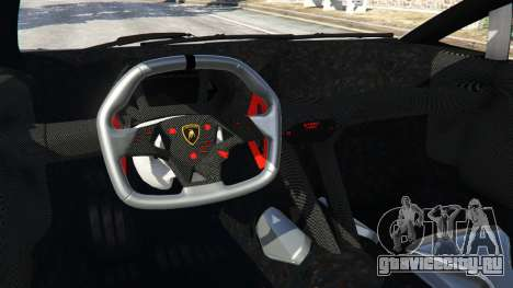 Lamborghini Sesto Elemento v0.5 для GTA 5 вид сзади справа