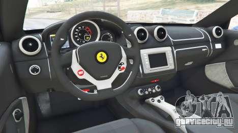 Ferrari California (F149) 2012 [Beta] для GTA 5 вид справа
