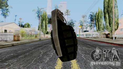 US Grenade from Battlefield 1942 для GTA San Andreas
