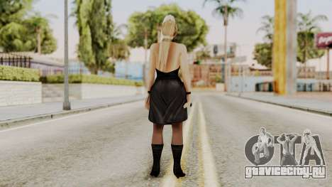 DOA 5 Sarah BlackDress для GTA San Andreas третий скриншот